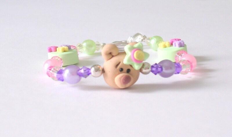 Children's Bear Bracelet