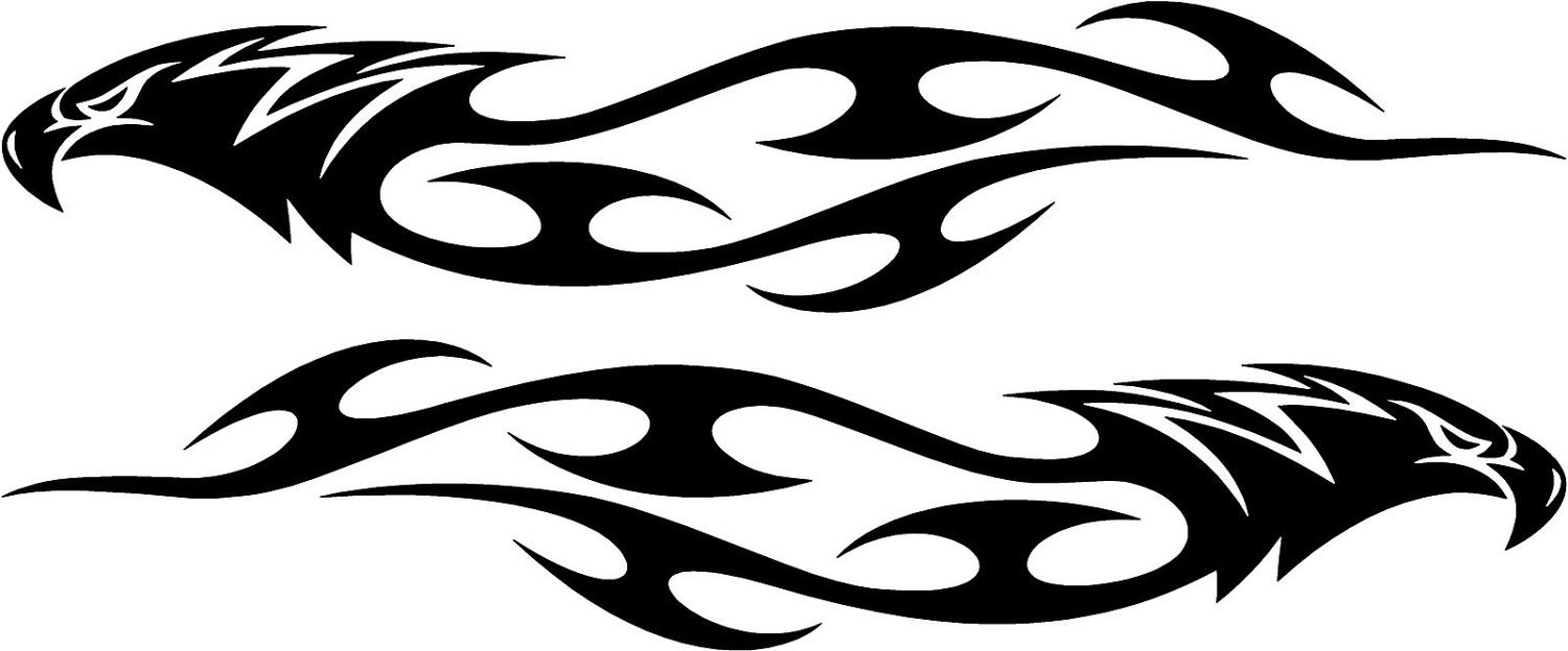 Marlin Decal moreover Shopexd besides Graphic Design Car Strips also Vinyl Decal Tribal Gecko furthermore Tribal Spike Graphic Decals Set. on truck wraps graphic custom