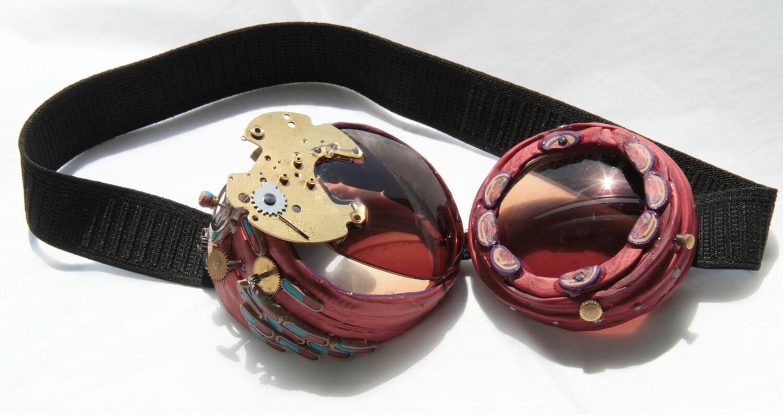 Steampunk Adventure Goggles