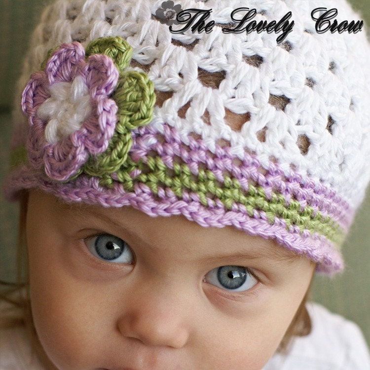 PDF Crochet Pattern for Ebeth's Princess Beanie  by ebethalan