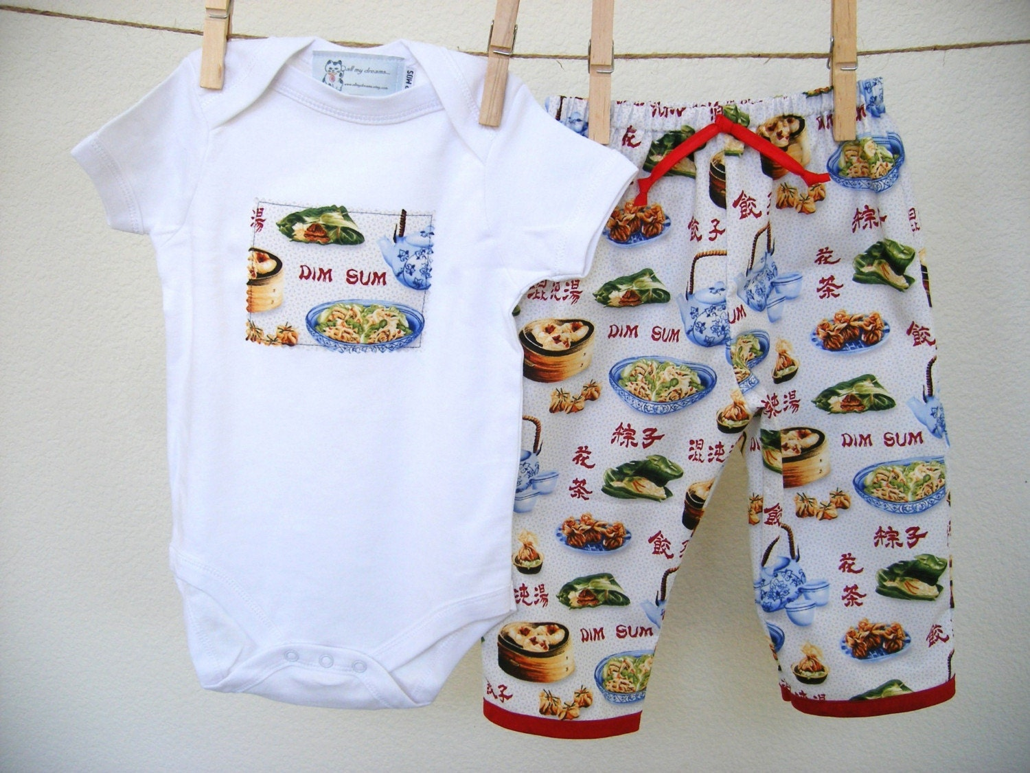 Dim Sum Outfit For Baby