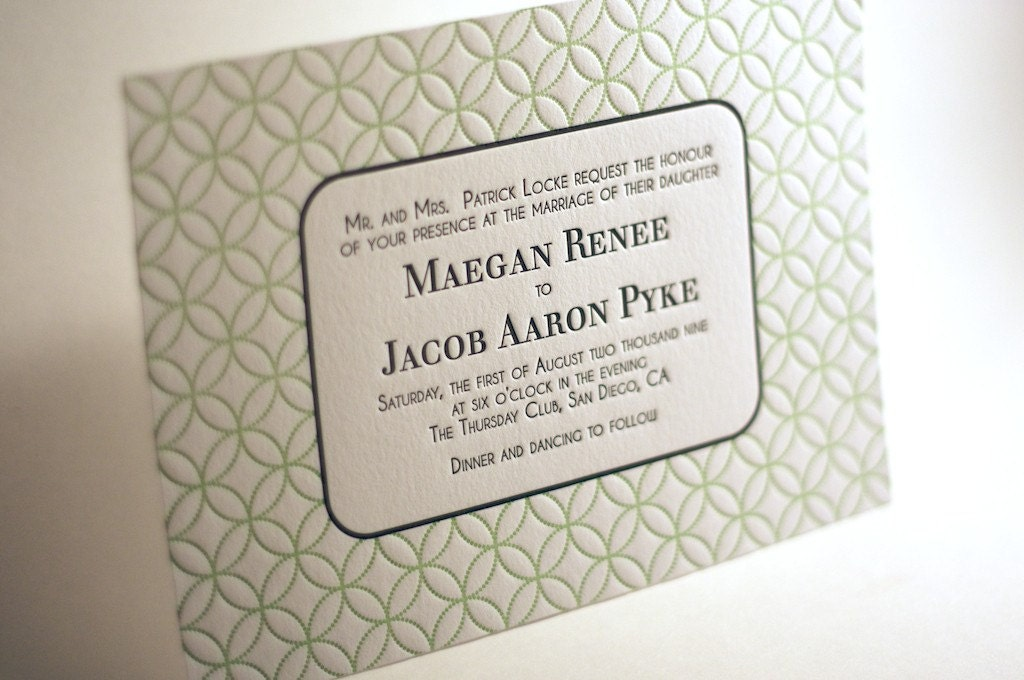 """Fall"" in Love Letterpress Giveaway from Ma Joie Press via TheELD.com"