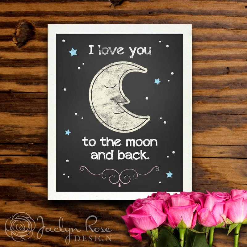 items similar to printable wall art decor i love you to. Black Bedroom Furniture Sets. Home Design Ideas