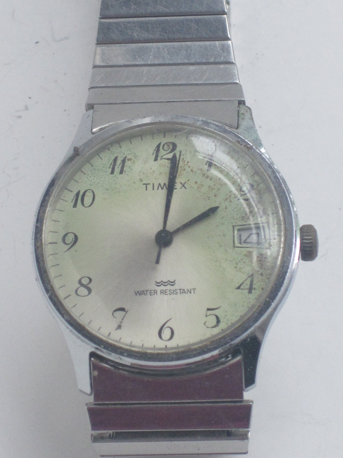 items similar to vintage mens timex gold tone