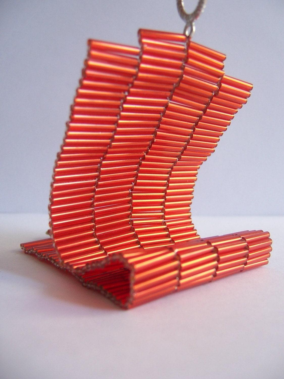 Orange  Fire Bracelet