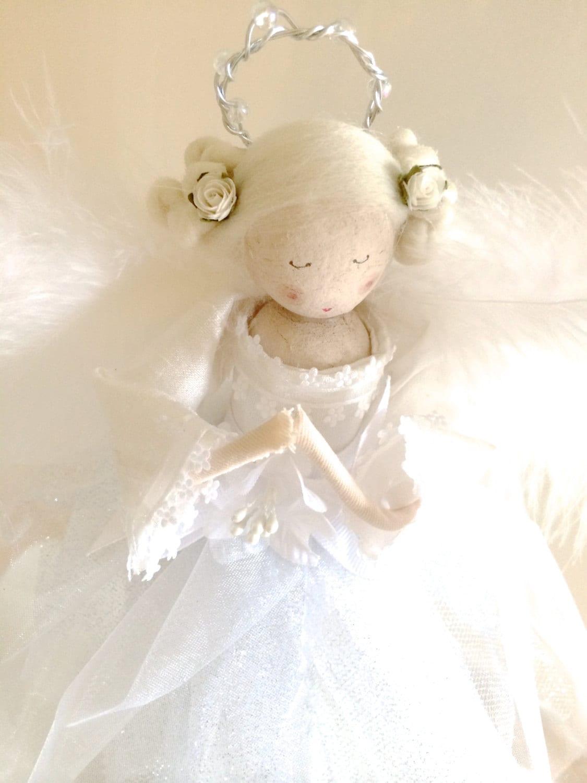 Fabulous Guardian Angel Doll (wire wings)