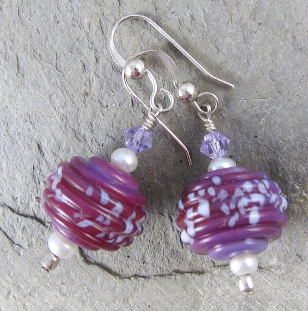 Sweet Lilac Earrings