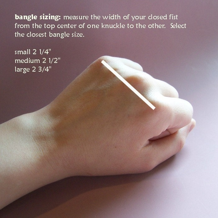 Bangle Bracelets for Thin Wrists (and How to Measure What Size Bangle You Need)
