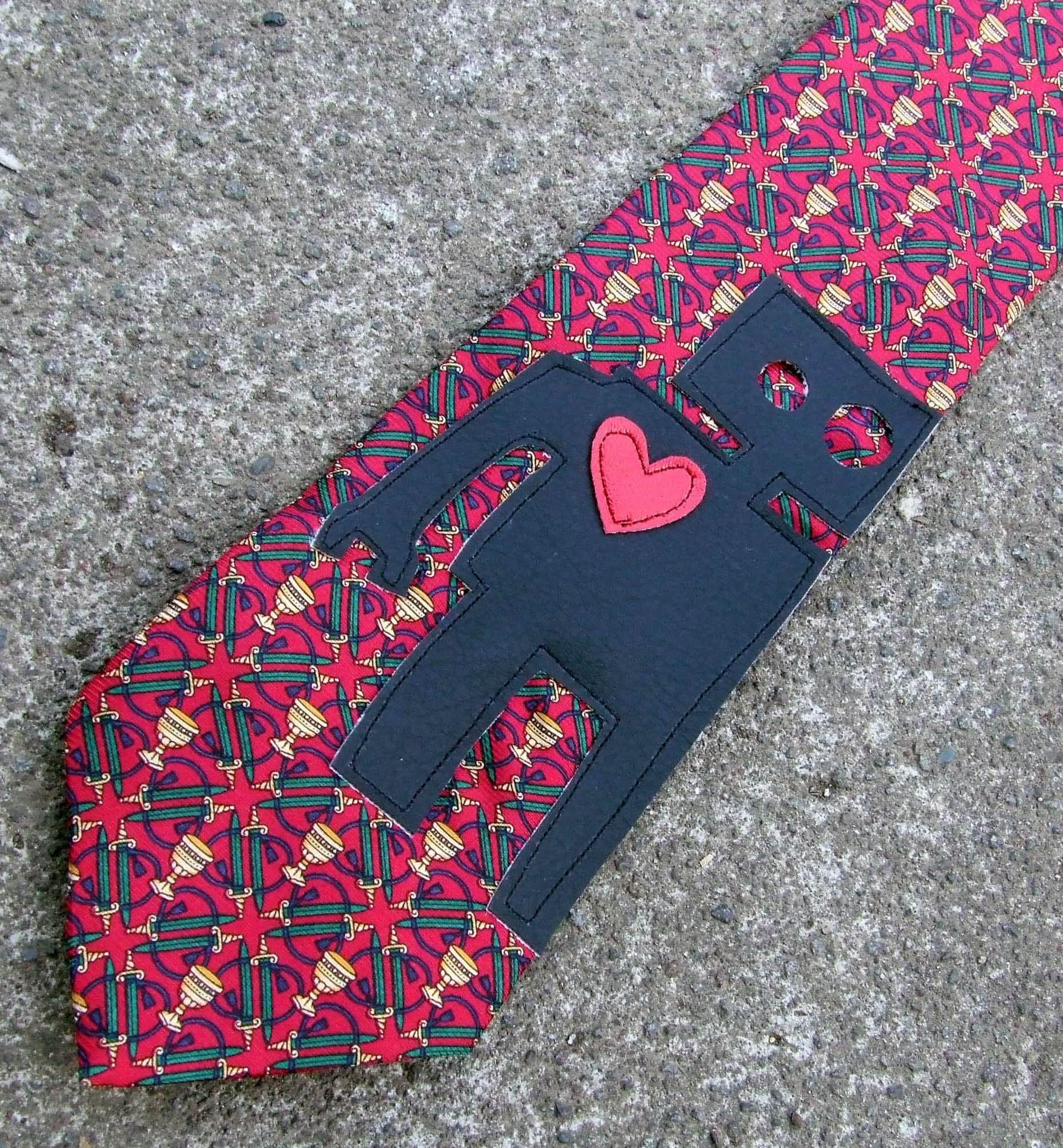 Robot Necktie by SugarLust, on Etsy.com
