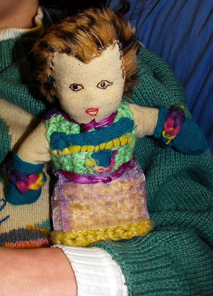 Unusual Handsewn Rag Doll