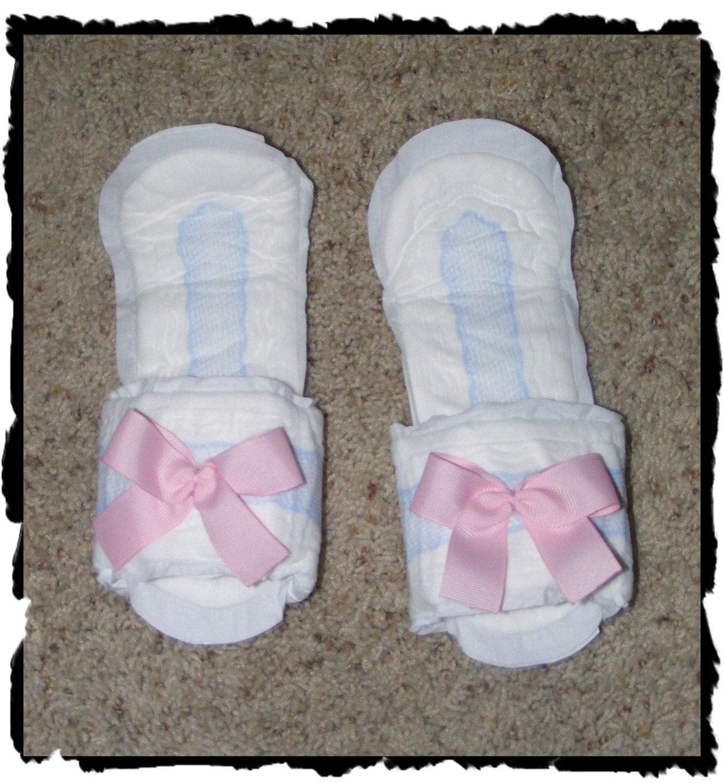 image Add fresh maxi pad into panties