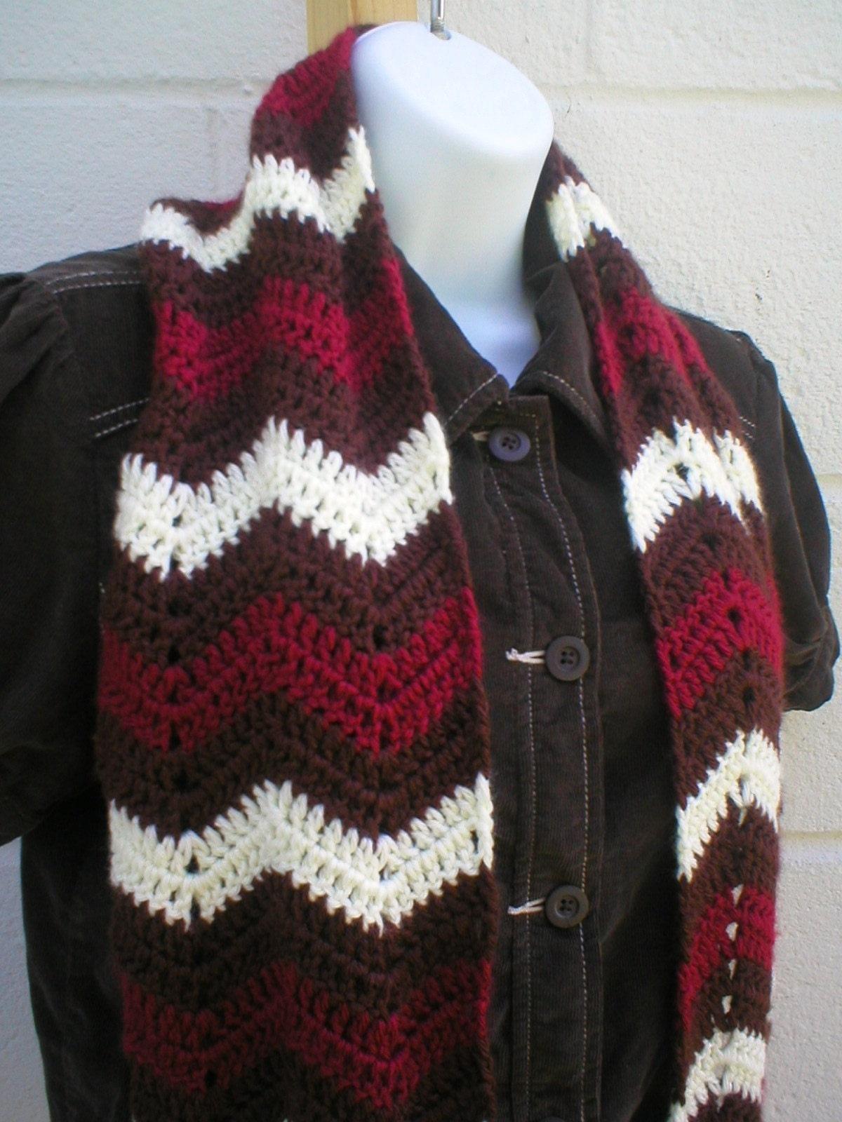 Crochet Zig Zag : FREE CROCHET ZIG ZAG PATTERN - CROCHET PATTERN