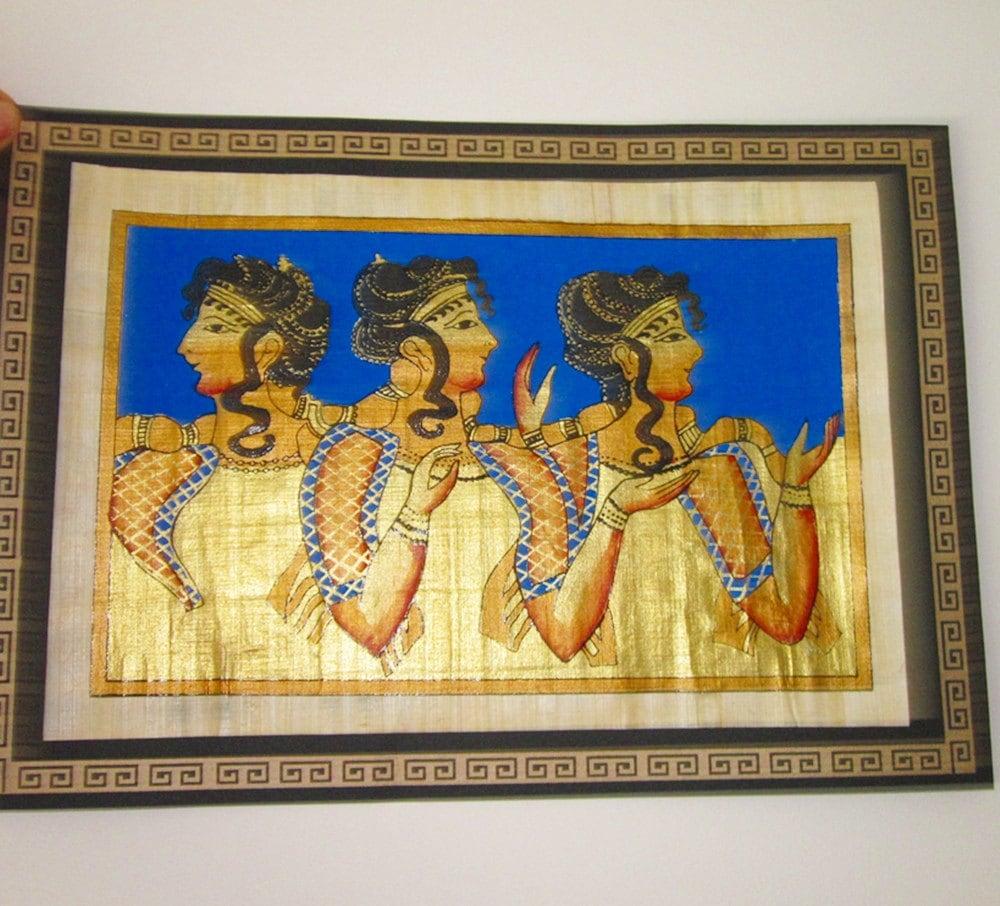 Papyrus Princesses- from Palace of Knossos
