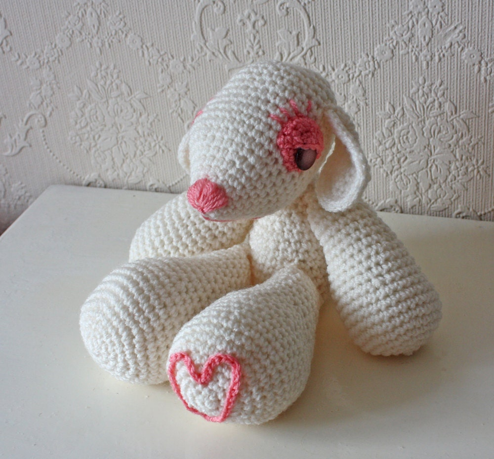 Items similar to PATTERN - Fawn Lamb Thingy Amigurumi ...