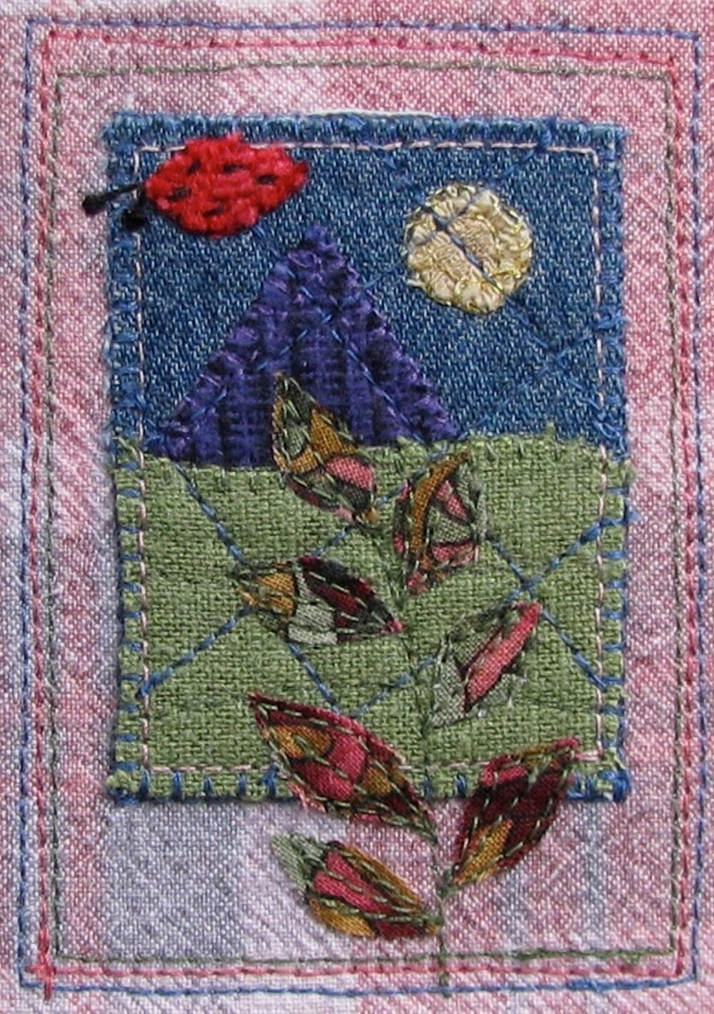Stitched Ladybug