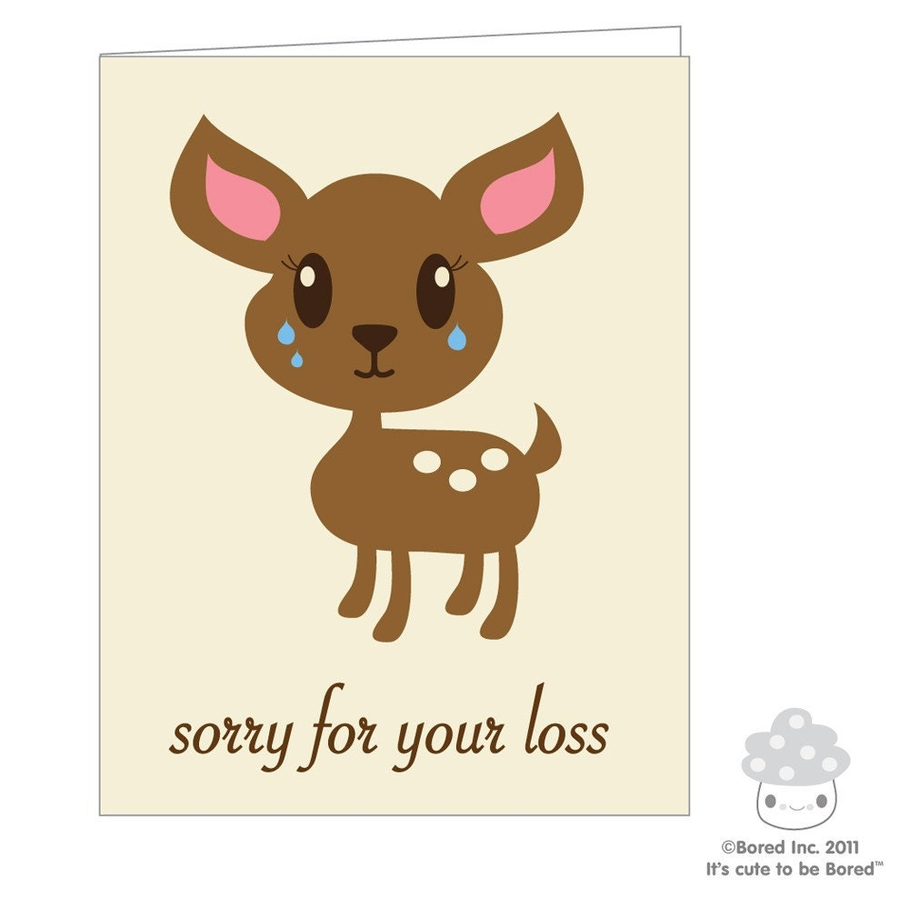 Stupendous image for sorry for your loss printable cards
