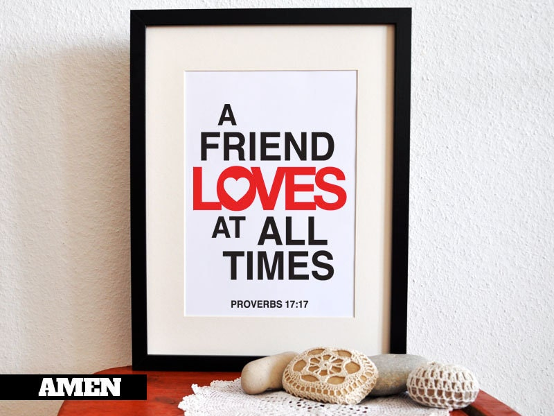 Quotes In The Bible About True Friendship : Gallery for gt bible verses about true friendship