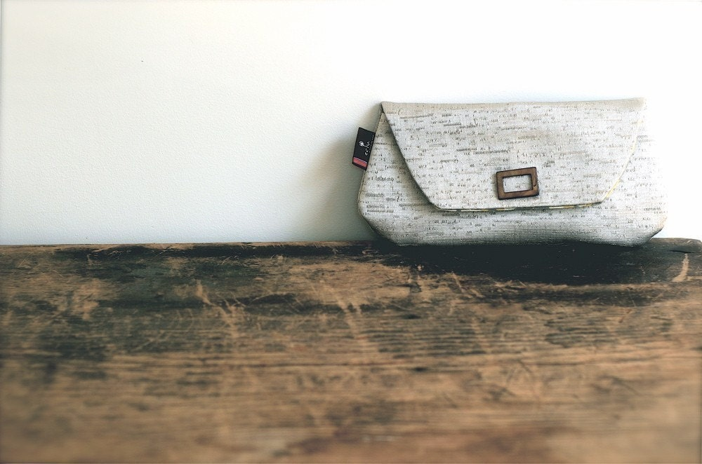 Shimmery Clutch