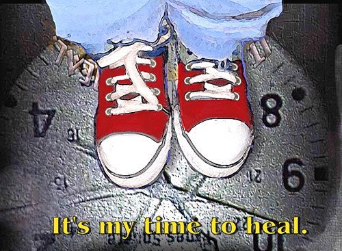 PIF Its My Time To Heal Postcard