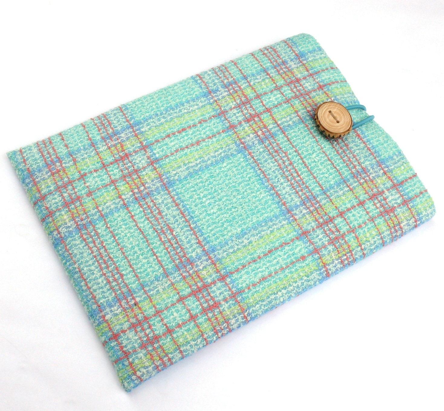 2016 MacBook Pro Case iPad 12 Case 12 MacBook Case Laptop Sleeve  SUPERIOR Shock Absorbent Foam Padding  Checked Cotton Fabric