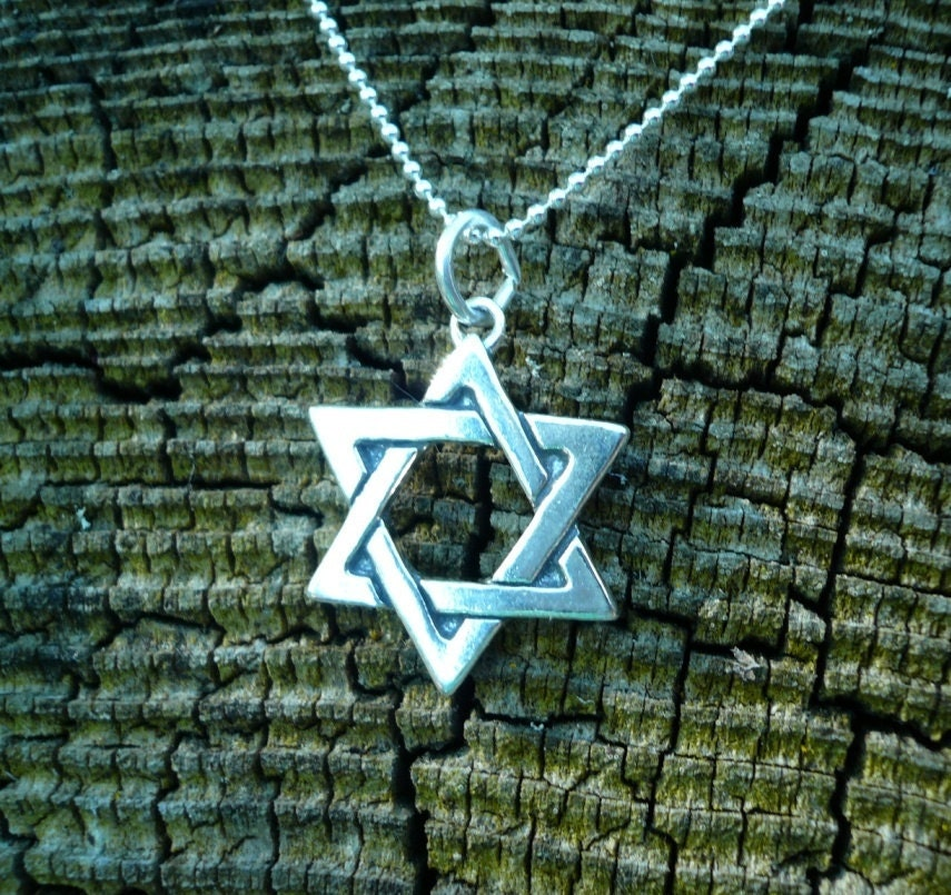 Star of David in Sterling Silver - pauhana