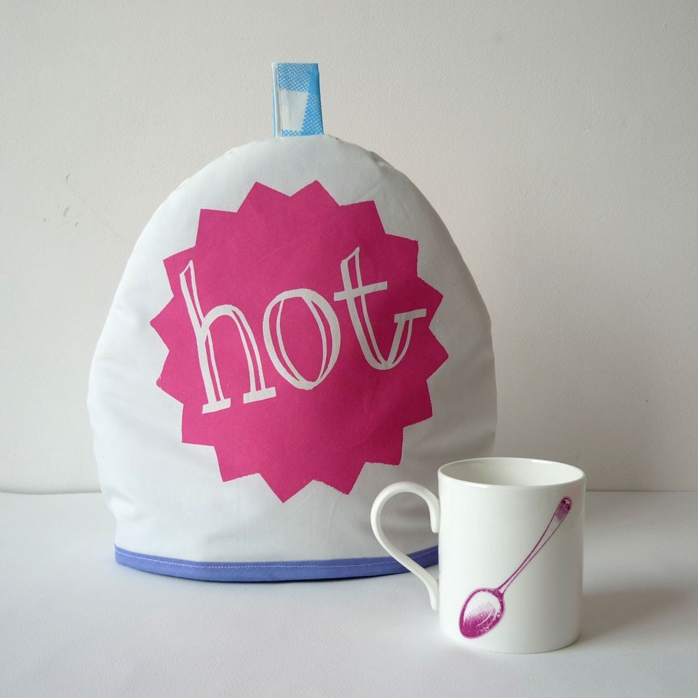 Hot Tea tea cosy - pink