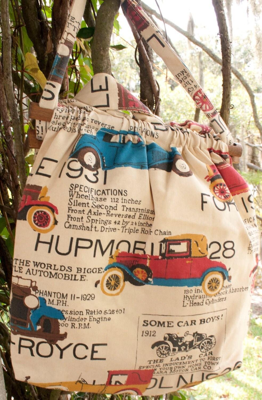 Vintage Hupmobile Handbag