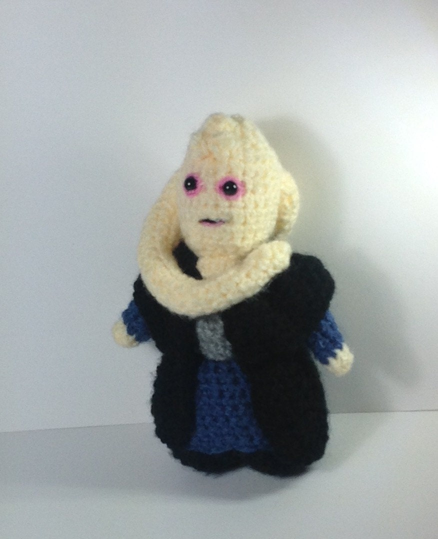 NEW! Bib Fortuna Star Wars inspired crochet character