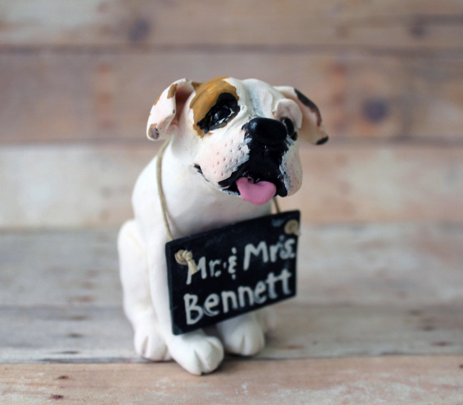 Custom Dog Cake Topper Made to look like your by ...
