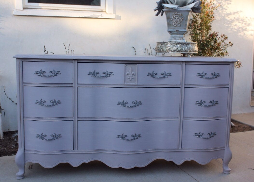 Vintage French Provincial Dresser By By Provincialbutfrench