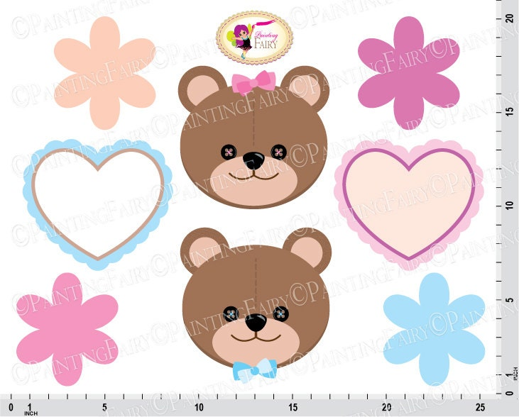 Baby boy teddy bear clip art - photo#22