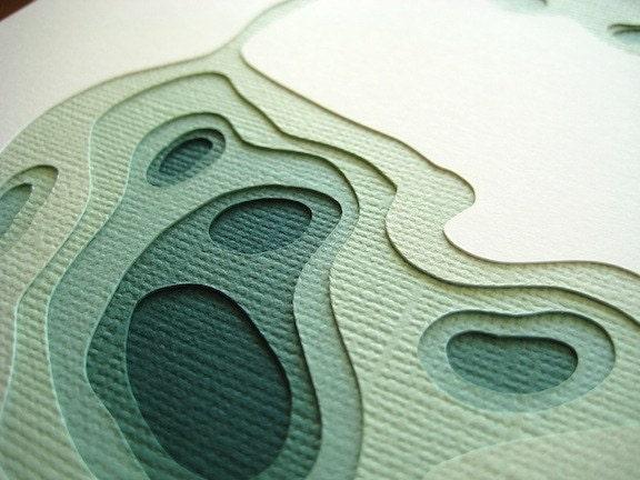 Marnie's paper art