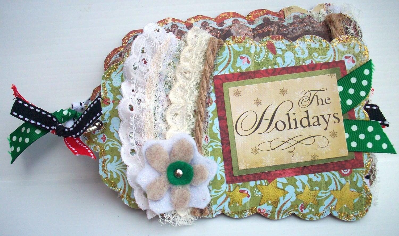 The Holidays Mini Chipboard Album