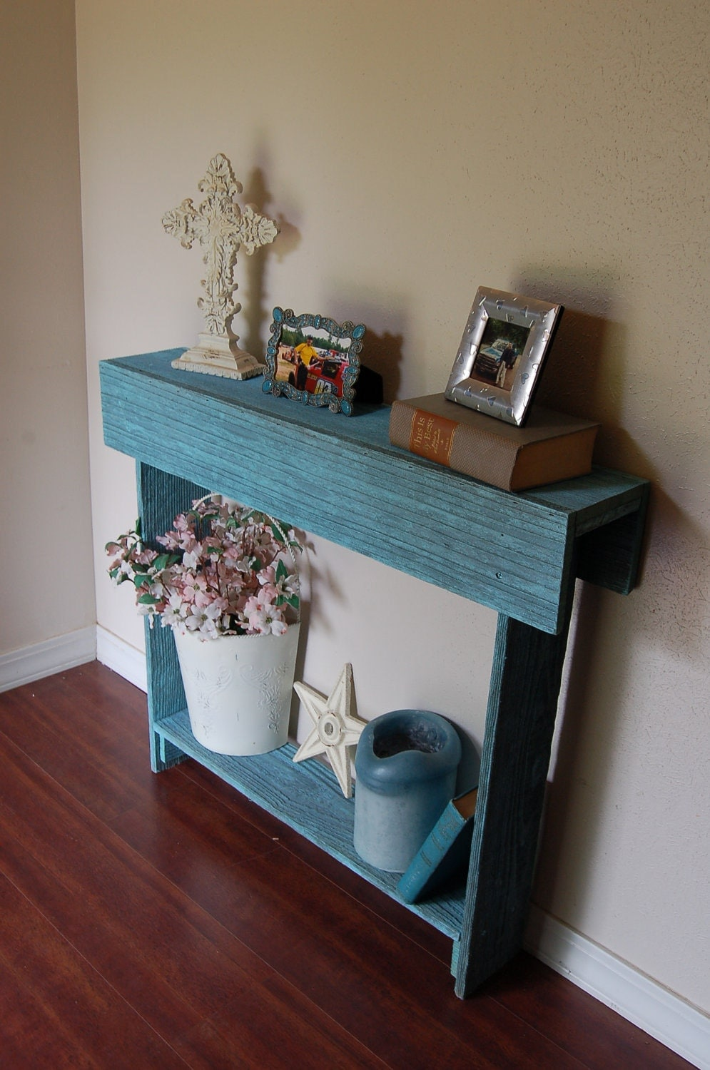 Unavailable listing on etsy for Entry wall table
