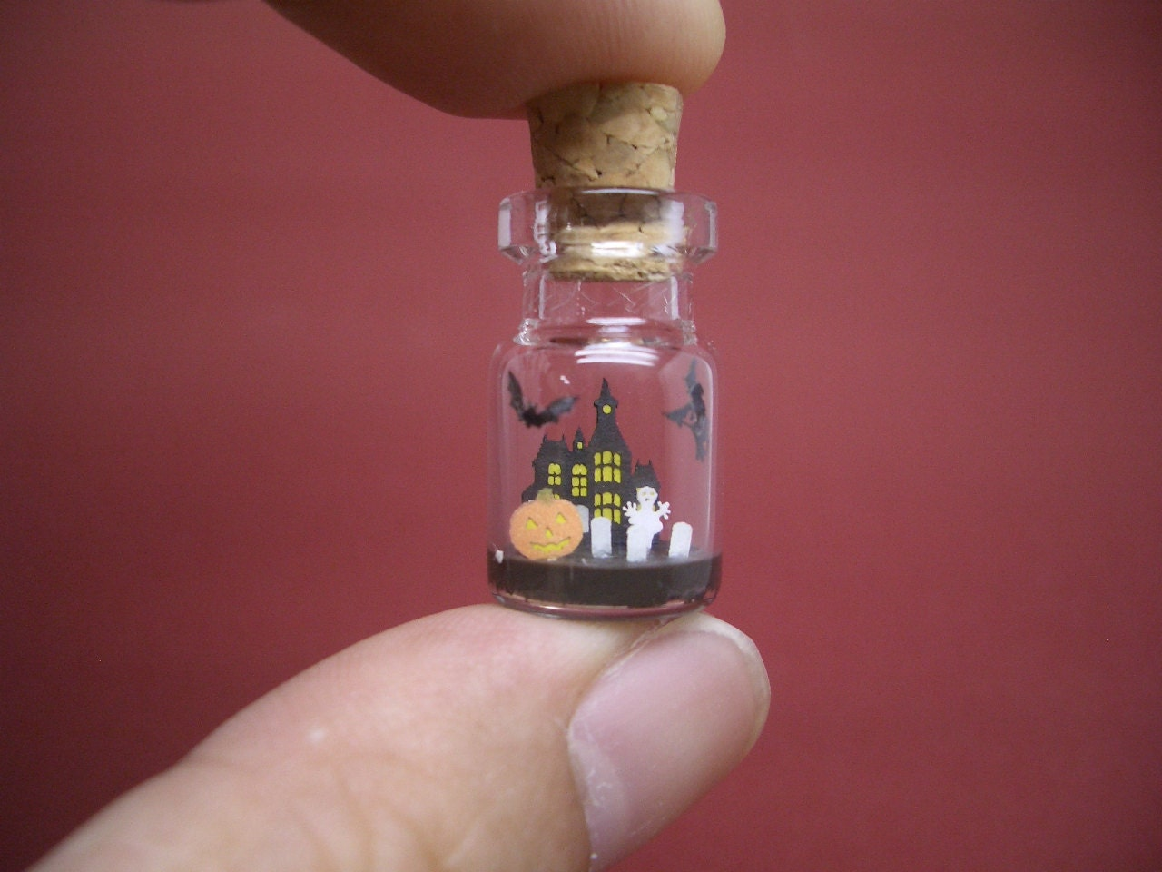 Halloween is in a tiny bottle ver.1
