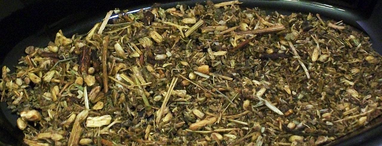 Amber Vanilla Herbal Sacred Sage Incense Powder
