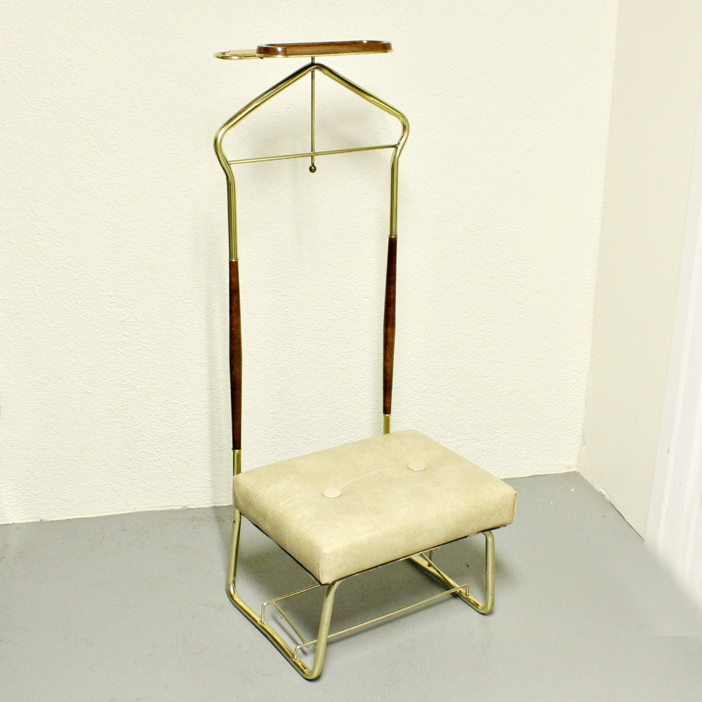 Vintage chair valet chair butler chair mens dressing chair