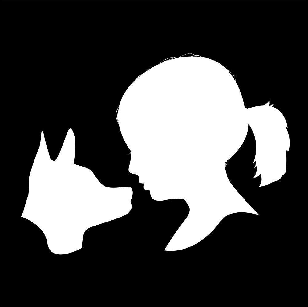 Child and Pet Custom Silhouette