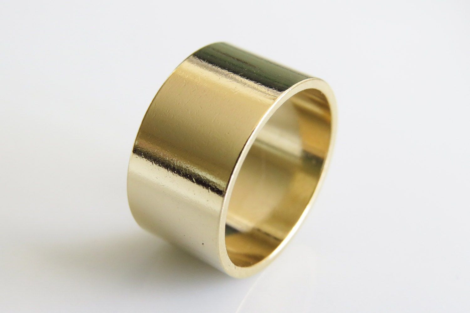 Gold Finger Cuff Ring