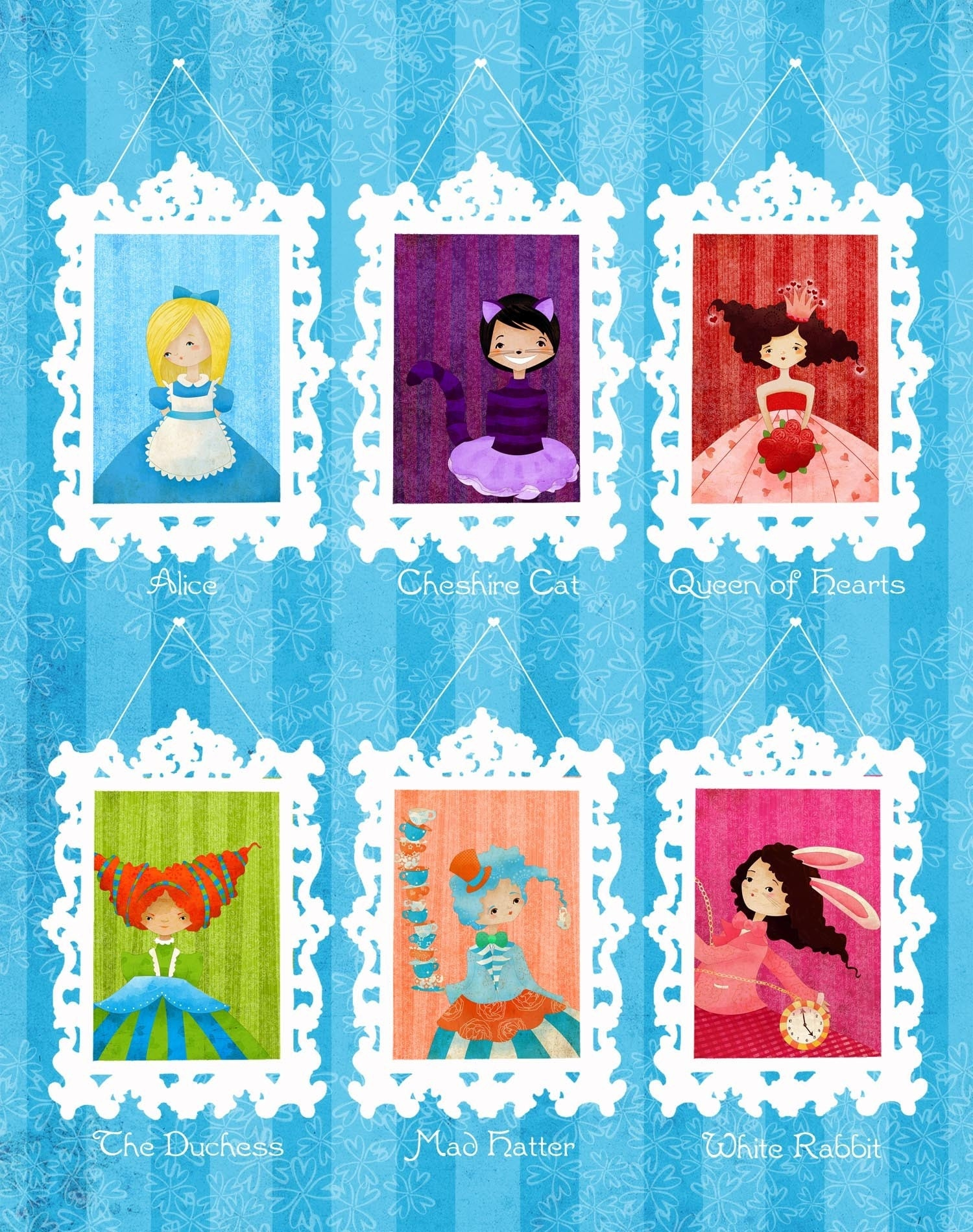 Alice in Wonderland Large Print
