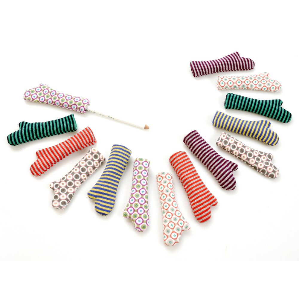 Hello Hands - fabric home deco accessories for pens