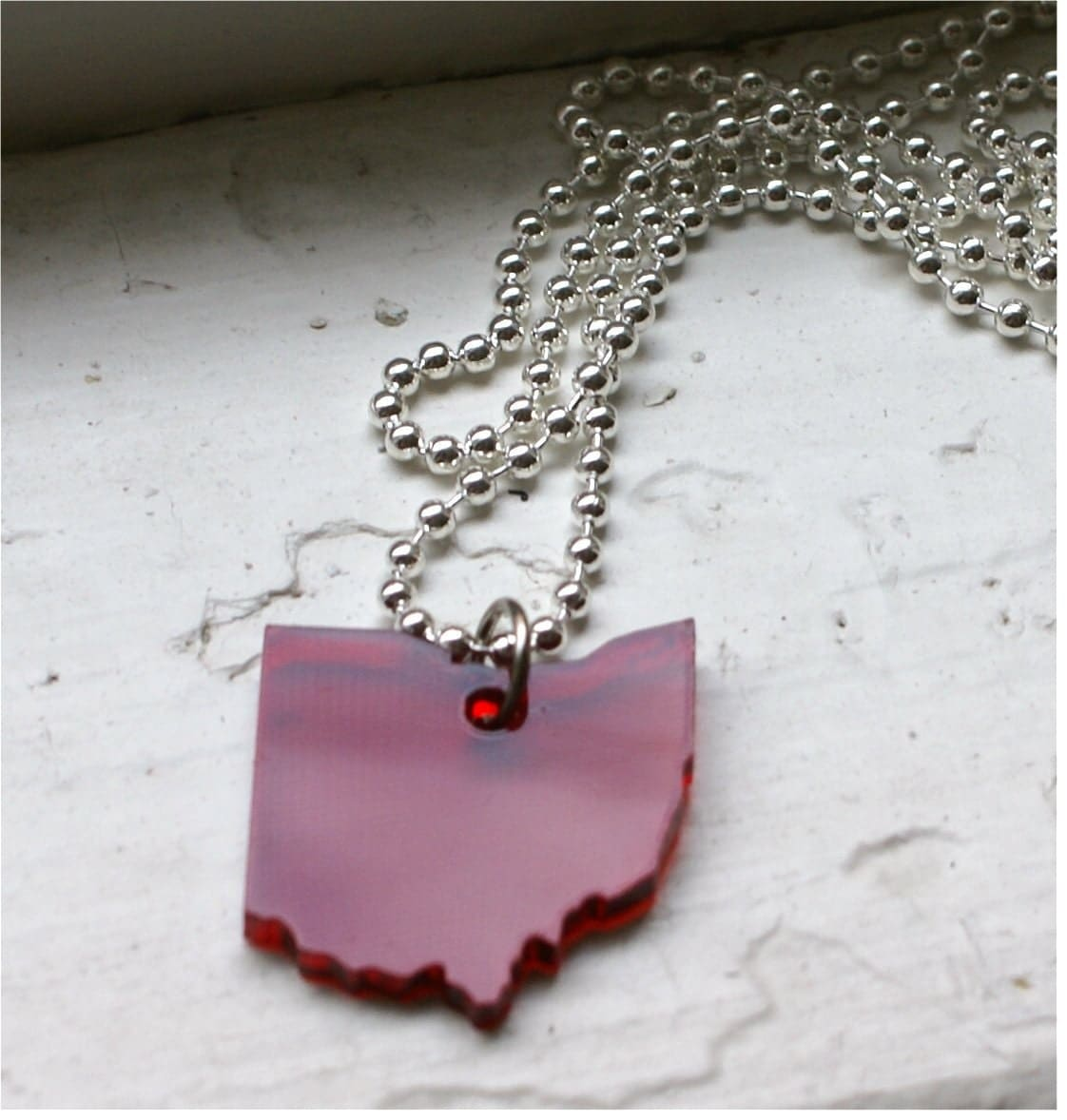 Red Ohio Necklace