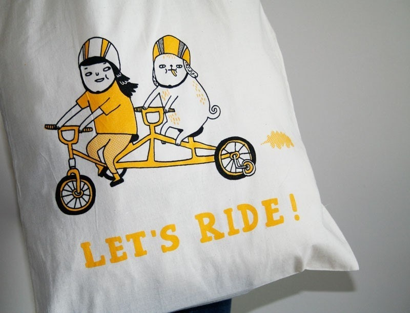 Tote Bag - Let's Ride