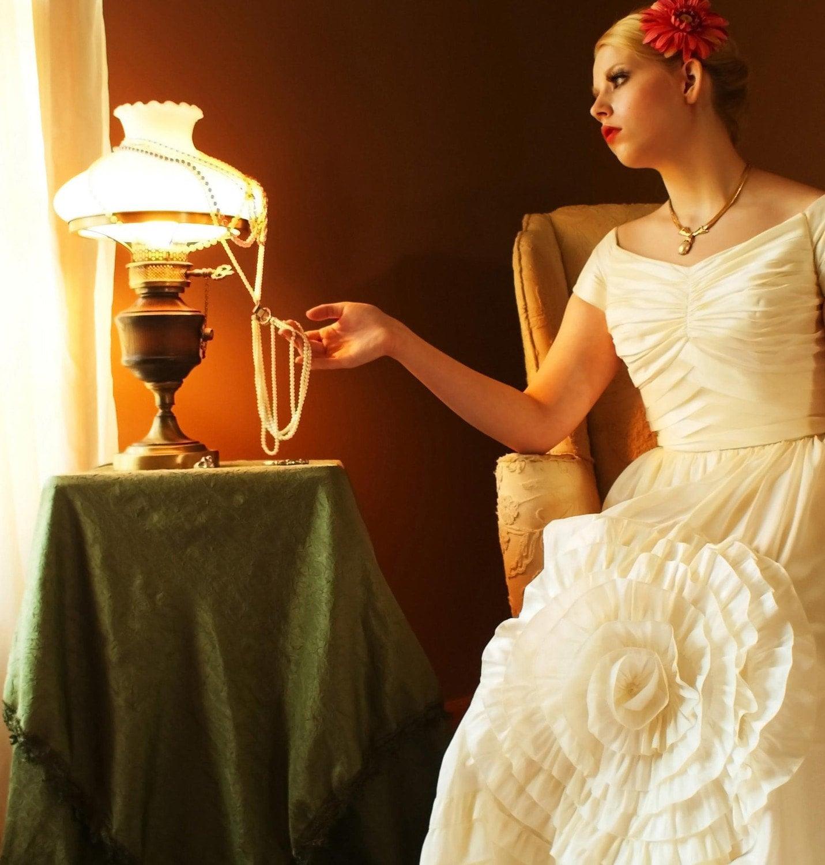 Modest_Wedding_Gown_Blooming_Flower