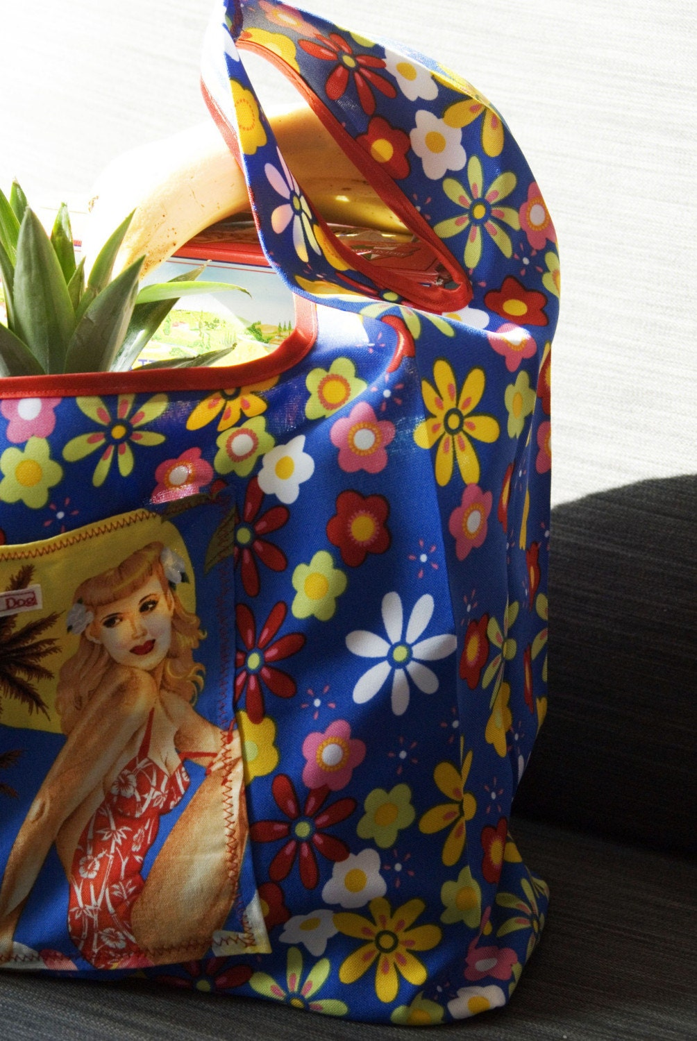 Fabric fantastic shopping bag