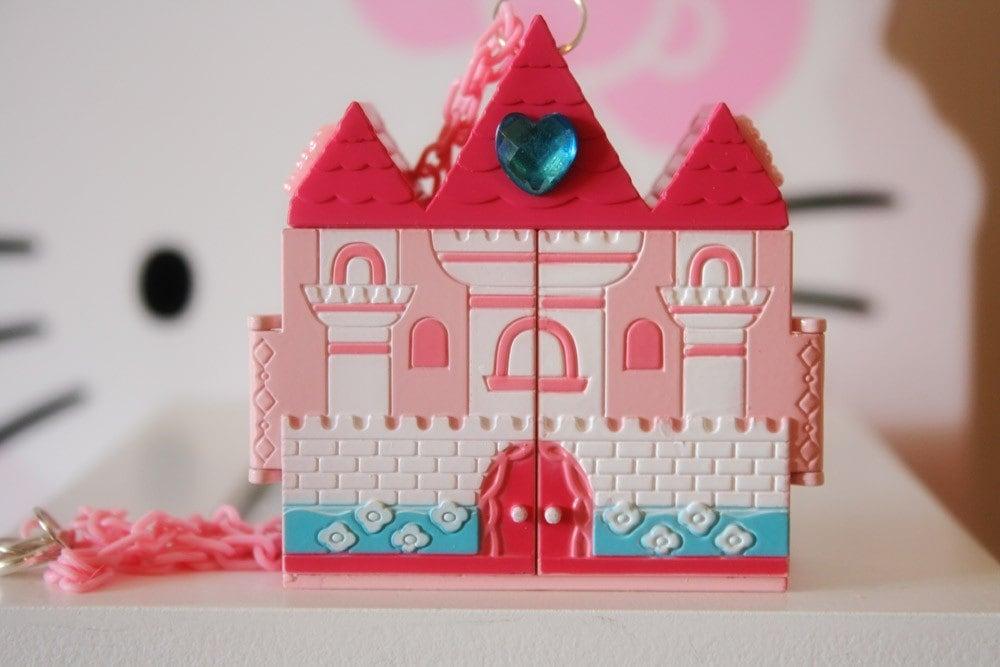 Princess castle necklace