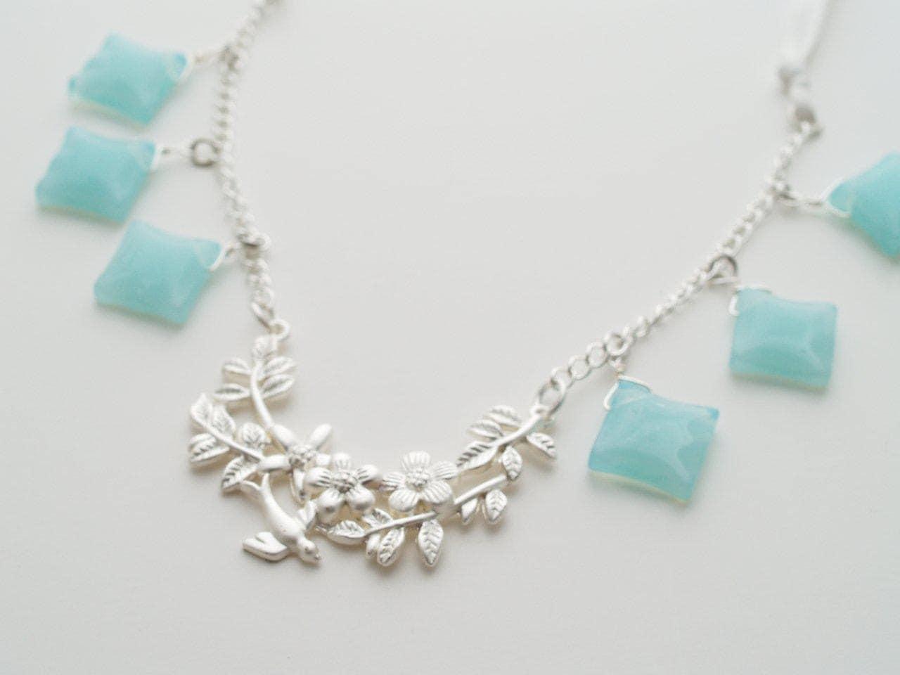 Aqua Drops Necklace