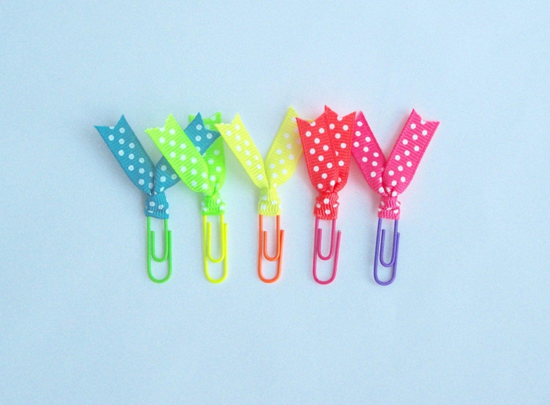 planner decorating planner organisation office desk clips paper clips bookmarks gift for friend