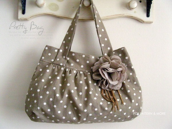 no 119 Pretty Bag Bag PDF Pattern