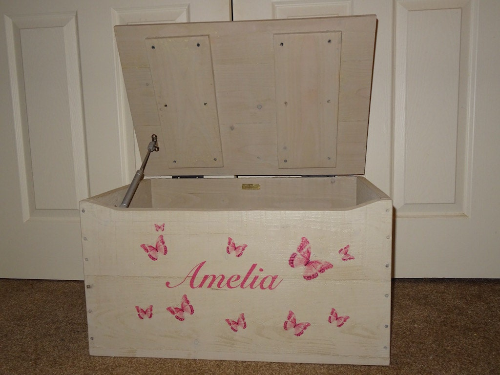 Large Storage Toy Memory Box Trunk Personalisation